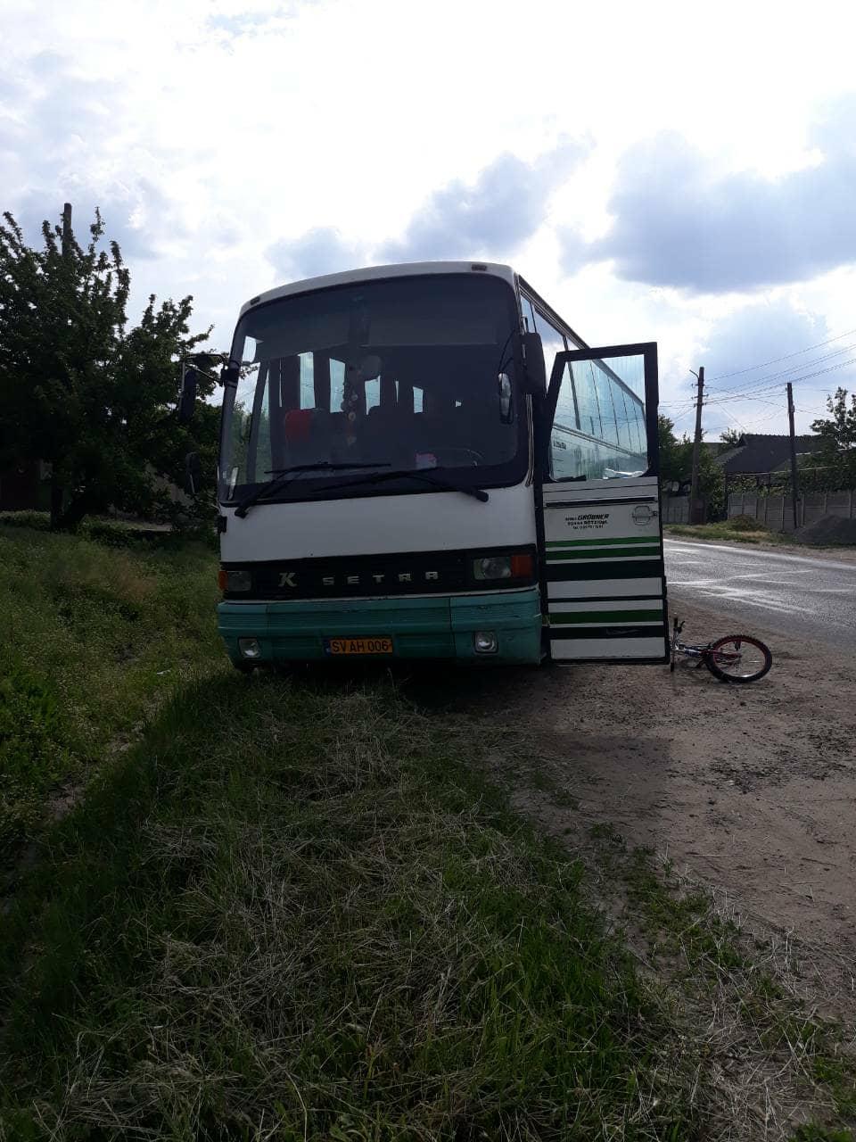 Un băiat de 7 ani, lovit de un autocar la Căușeni