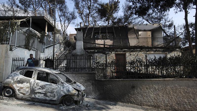 incendiu grecia55 | Sursa: AP