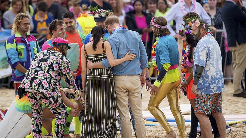 prințul harry plaja | Sursa: AP