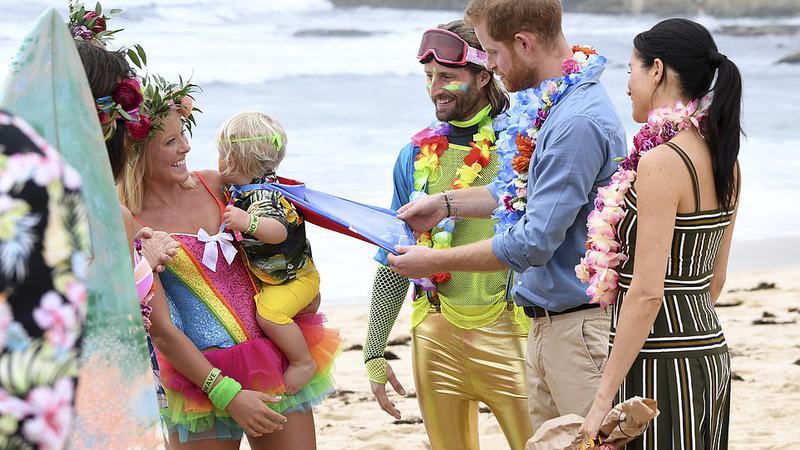 prințul harry plaja14 | Sursa: AP