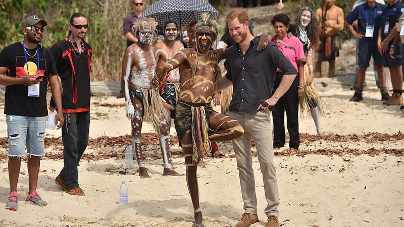 Prinţul Harry, întâlnire insulă2 | Sursa: PA