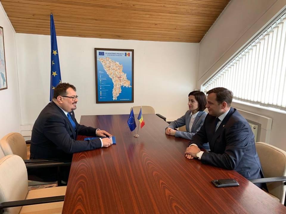 ambasadorul UE, ACUM
