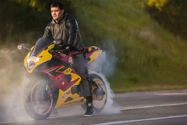 Țuțu motocicletă