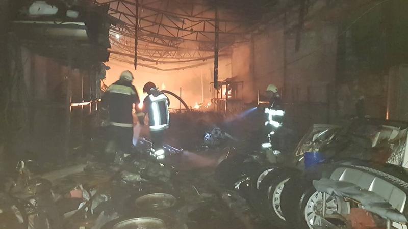 incendiu Muncești | Sursa: dse.md