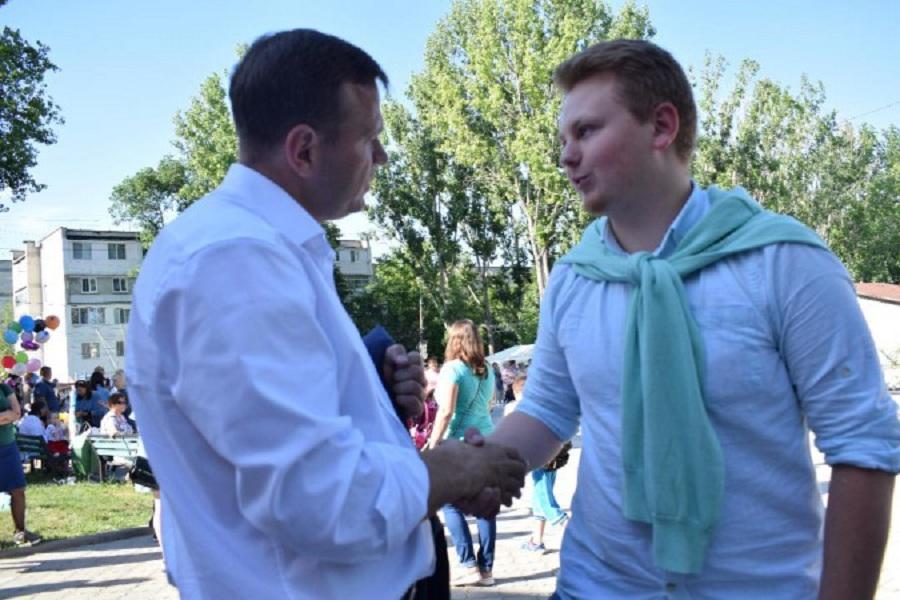 Andrei Năstase, la Cricova 13