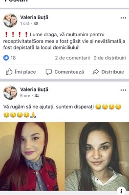 facebook//Alina Buţă