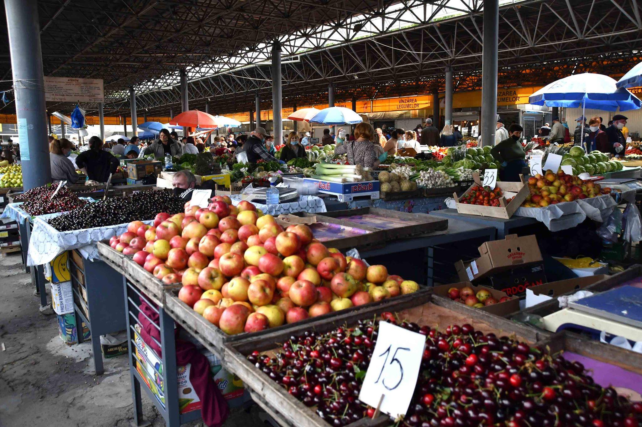 Piața Centrală fructe