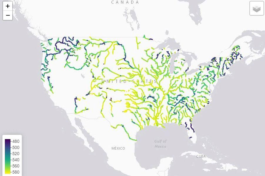 râuri SUA