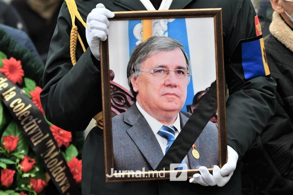 funeralii Nicolae Dabija